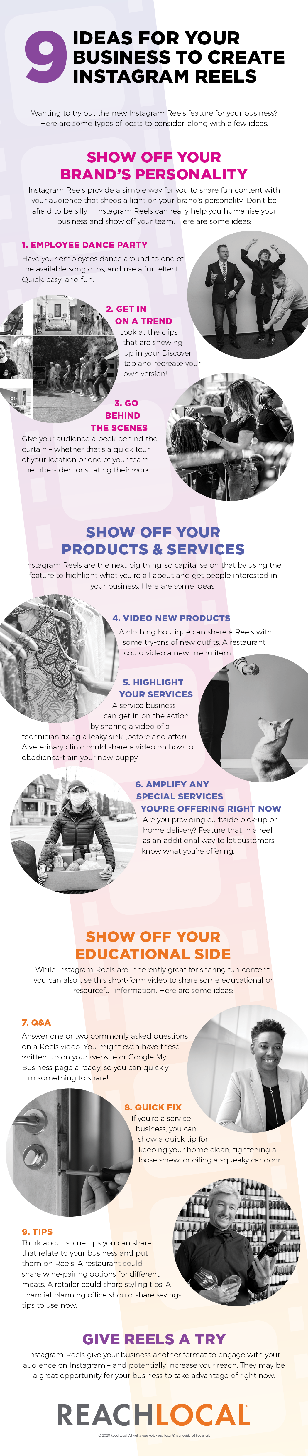 9 Ideas for Your Business to Create Instagram Reels